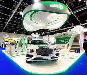 custom build exhibition stand dubai