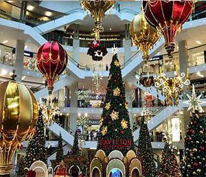 mall decoration dubai