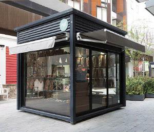 outdoor kiosk fabrication dubai