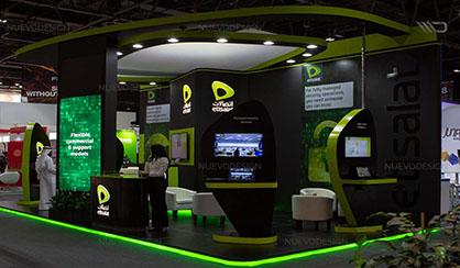 etisalat exhibition stand