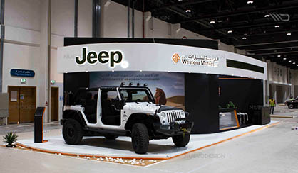 jeep exhibition stand
