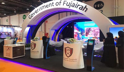 fujairah government wfes 2018 exhibition stand