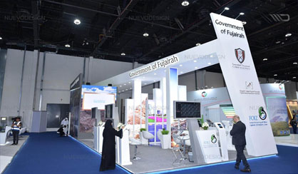 fujairah government wfes 2019 exhibition stand